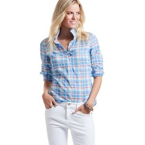 Vineyard Vines Burgee Plaid Popover